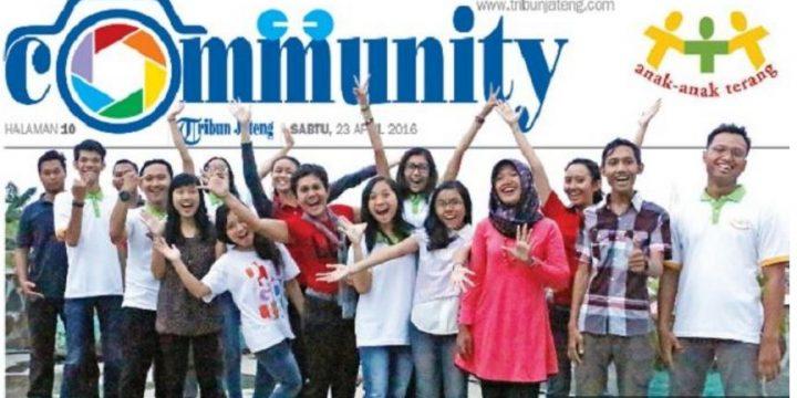 Komunitas Anak Anak Terang Semarang Menjadi Pelita Bagi Siswa Kurang Mampu