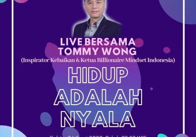 Live bersama Tommy Wong
